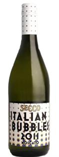 Secco Italian Bubbles Moscato 2014 750ml - Case of 12